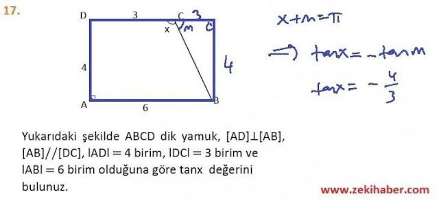 11. Sınıf MEB Yayınları Matematik 70. Sayfa Cevapları