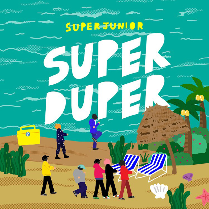 Super Junior. Super Duper