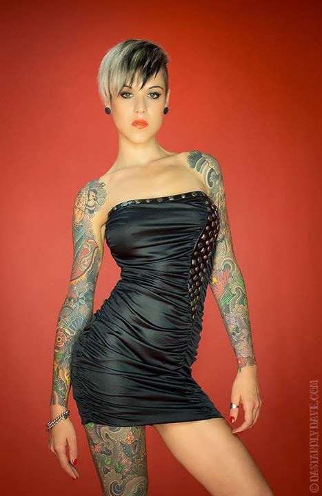 The Pixie Revolution Sarah Mailett Buzzed Goddess