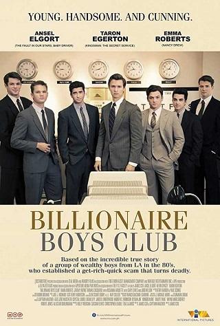 Billionaire Boys Club 2018 English 300MB BRRip ESub 480p