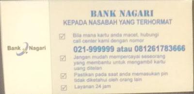 Jangan Hubungi Call Center ATM Palsu Ini