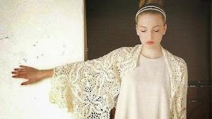 Chal vintage al crochet