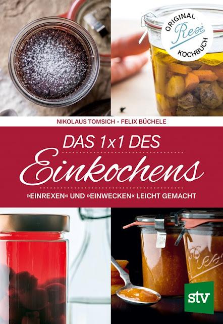 Gartenblog Topfgartenwelt Buchtipp Einkochen: Cover STV-Verlag