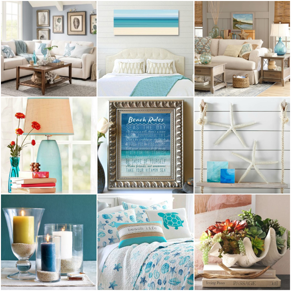 Coastal Interior Decor Design Ideas
