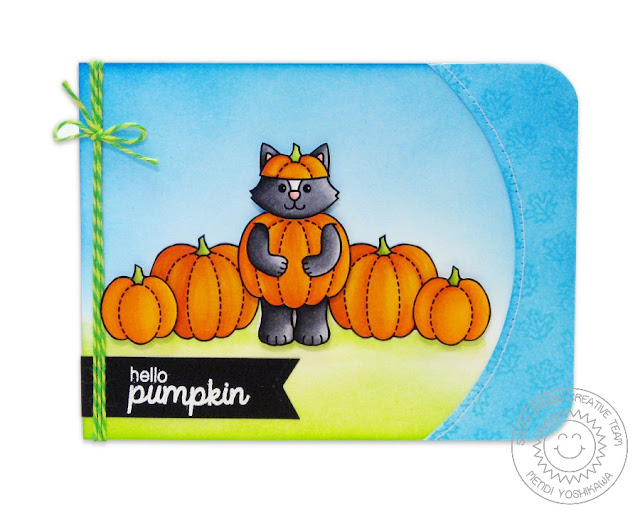 Sunny Studio Stamps: Halloween Cuties Card by Mendi Yoshikawa