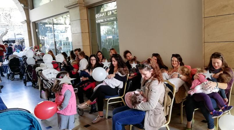 Αλεξανδρούπολη και Ορεστιάδα συμμετείχαν στον 9ο Πανελλαδικό Ταυτόχρονο Δημόσιο Θηλασμό