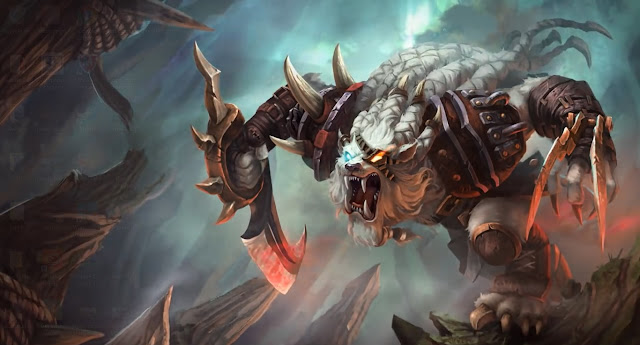 Rengar league of legends Wallpaper Engine