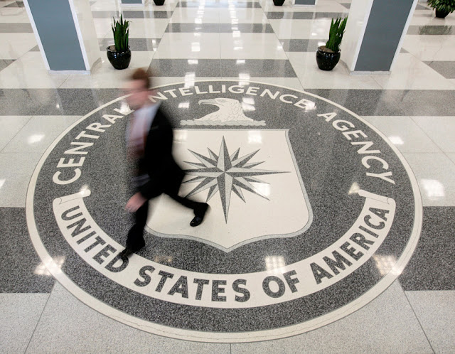 Image Attribute: The lobby of the CIA Headquarters Building in Langley, Virginia, U.S. on August 14, 2008.   REUTERS/Larry Downing/File Photo