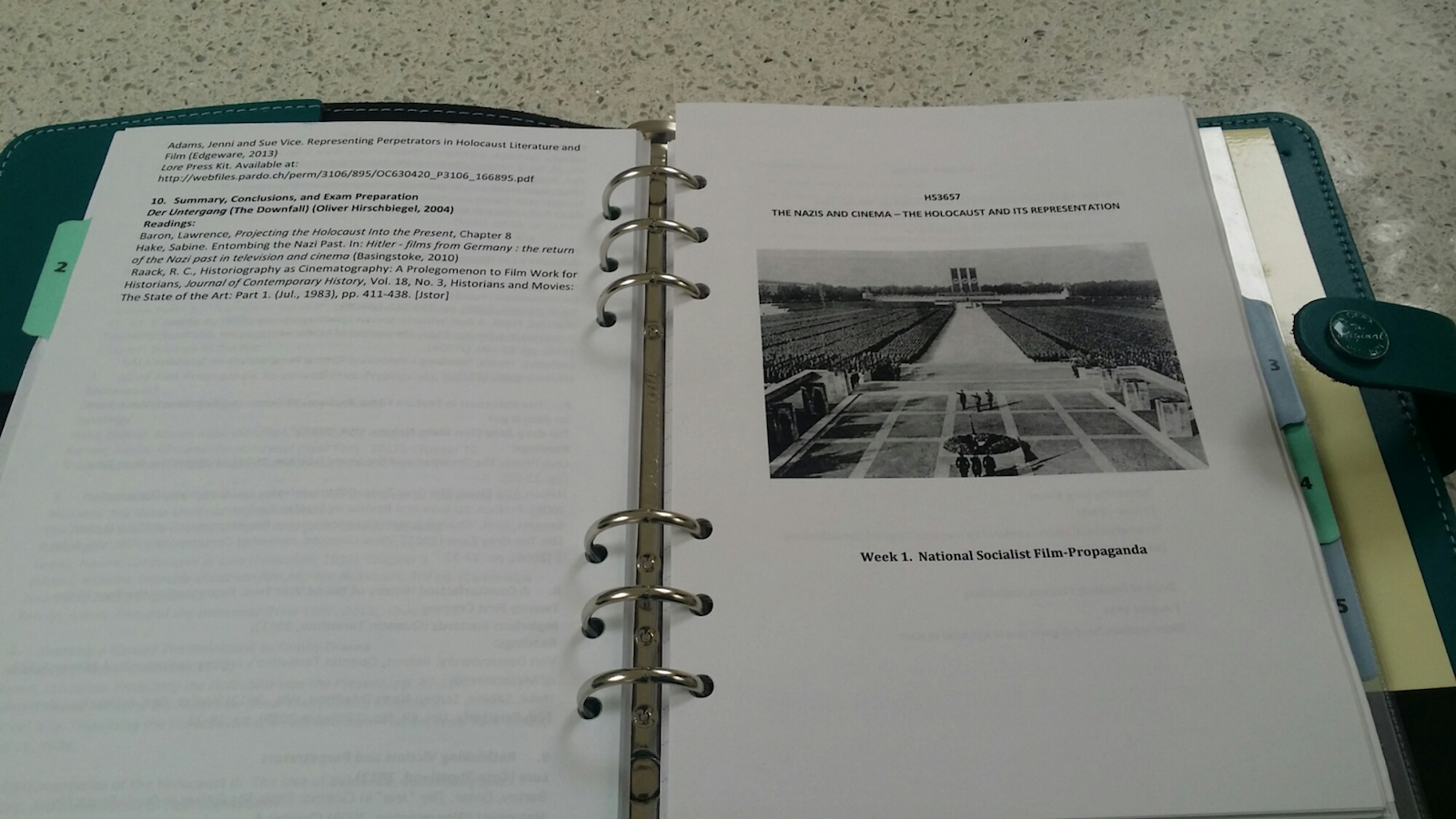 philofaxy all stars guest post using a filofax for your i also have my dissertation work in here i have my essay exploring my topic and some meeting reports about my progress i also have draft copies of