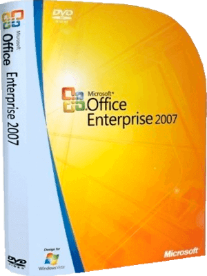 Microsoft Office Enterprise 2007 box