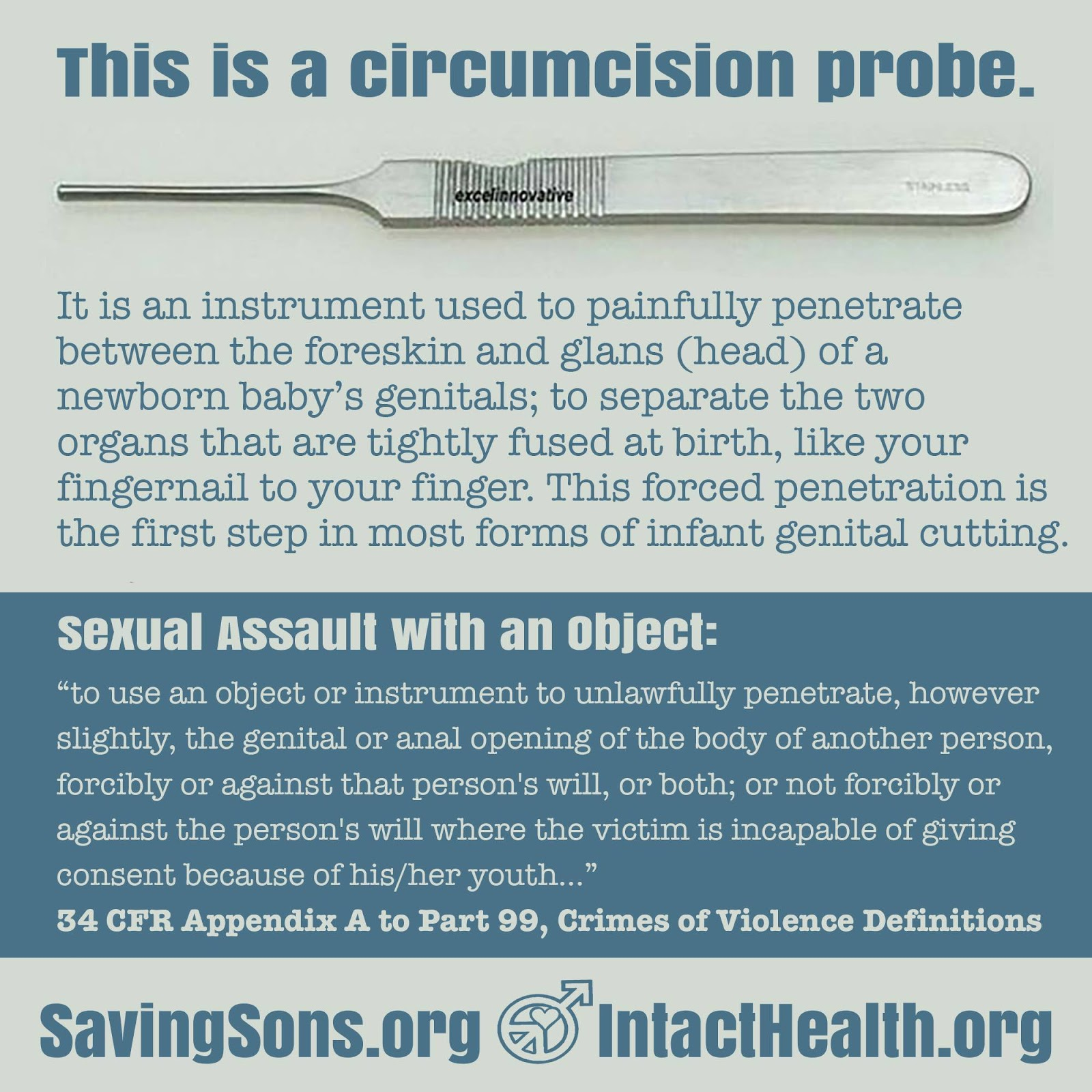 Saving Our Sons: Penile Probing for Circumcision