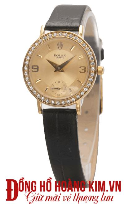 mua đồng hồ nữ dây da