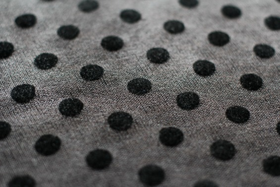 polka dot fabric www.loweryourpresserfoot.blogspot.com