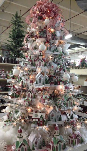 drzewko świąteczne zrobione