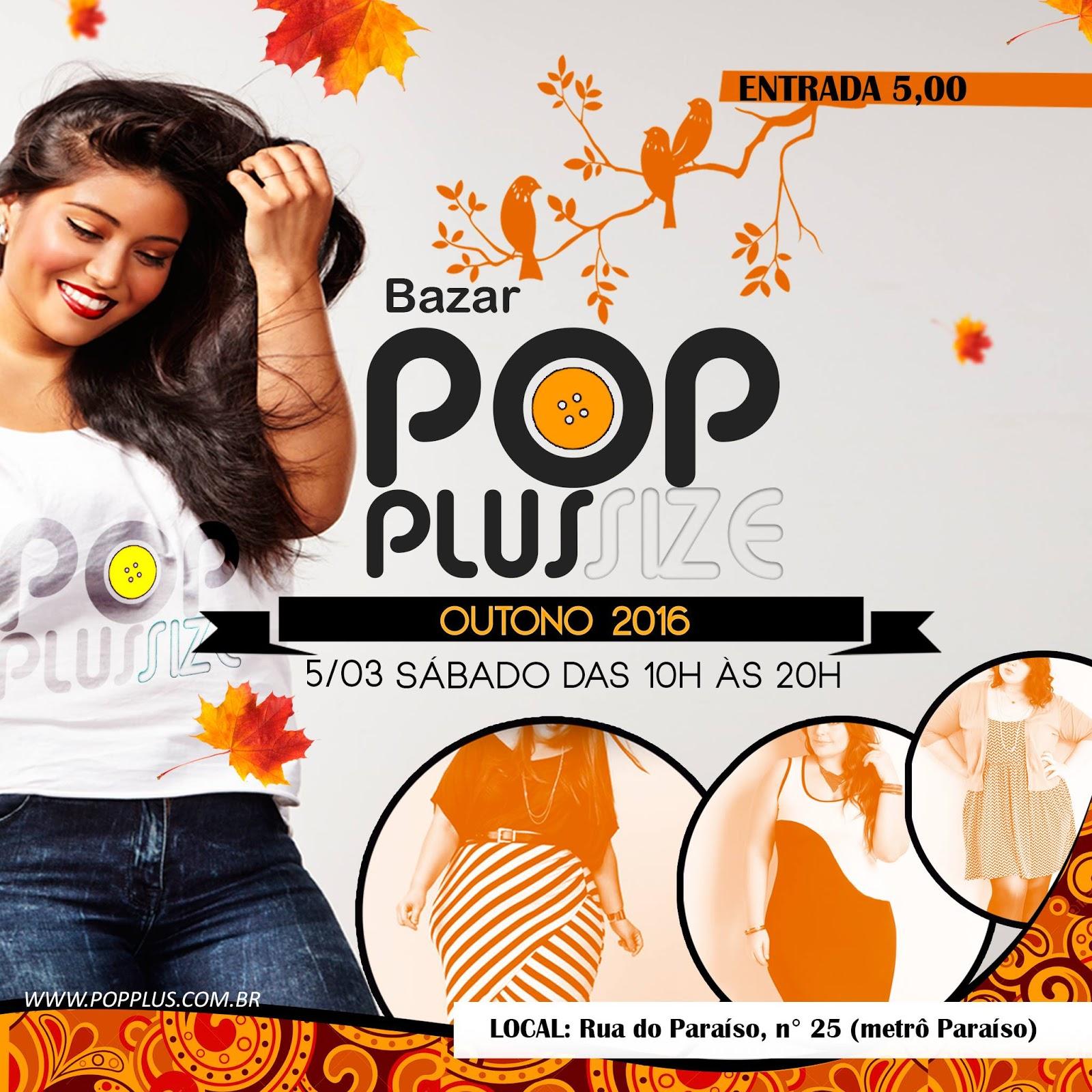 8b97ea743 Bazar Pop Plus Size oferece moda jovem