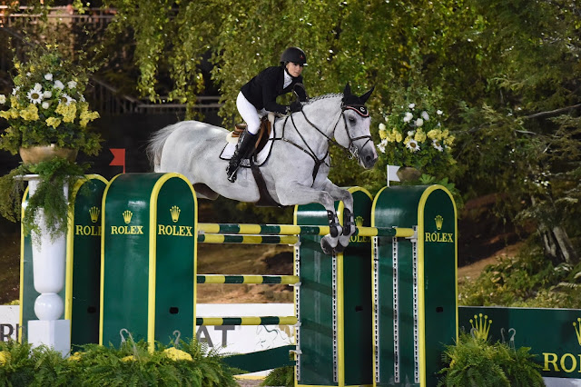Photo of Georgina Bloomberg at Central Park Celebration of the Horse, 2014