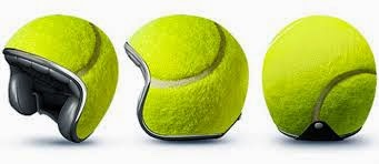 Helm Bola Tenis