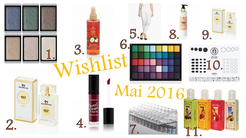 Wishlist de Mai : Maquillage, parfums et autres ! - Jordana Sweet Cream Matte Lip Color Sweet Marsala Wine, Equivalenza Body Mist Brume Corporelle Coconut, White Musk, Cherry Blossom, Maracuja, Raspberry, Acrylic Lipstick Organizer, Body Mist, Body Splash, Equivalenza Body Splash, Equivalenza Handcream, Equivalenza Perfume, Eau de parfum, Equivalenza 144, Equivalenza Review, Avis Equivalenza, Equivalenza Body Lotion, Equivalenza avis, Inglot eyeshadow palette, ArtDeco customizable eyeshadow palette, palette customisable ArtDeco