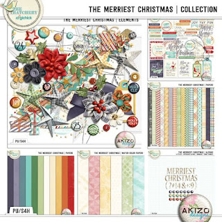 The Merriest Christmas Collection by Akizo Designs