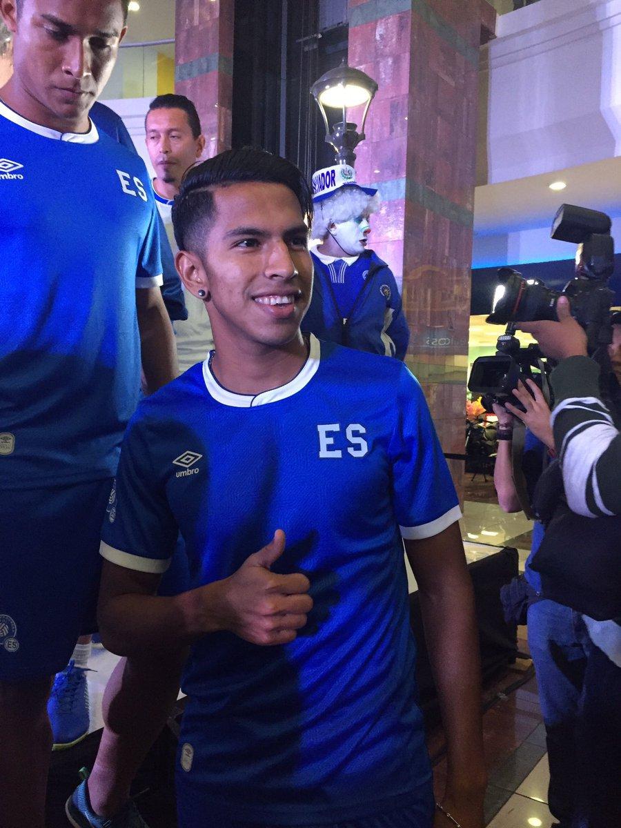 ... El Salvador 2017-2018 Home Jersey El Salvador Soccer T-Shirt ... ee9f89e65