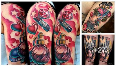 Tatuajes de maquillaje