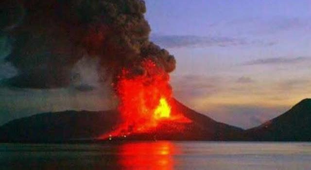 Gunung Papua Nugini Meletus, Ribuan Penduduk Melarikan Diri