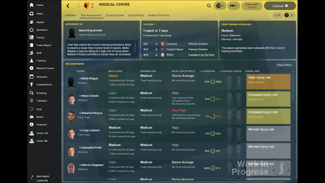Risk Assessment Panel in FM18