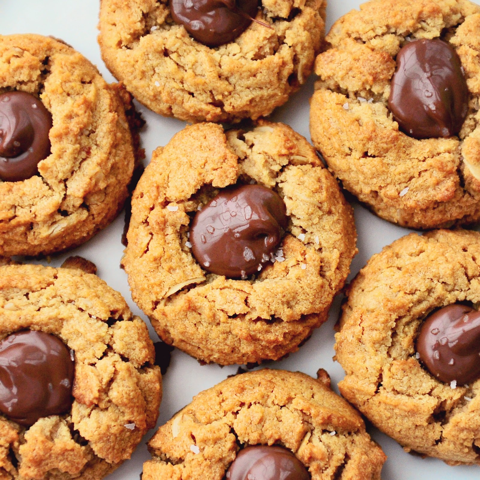 Simply Gourmet: Peanut Butter And Nutella Cookies, Gluten Free