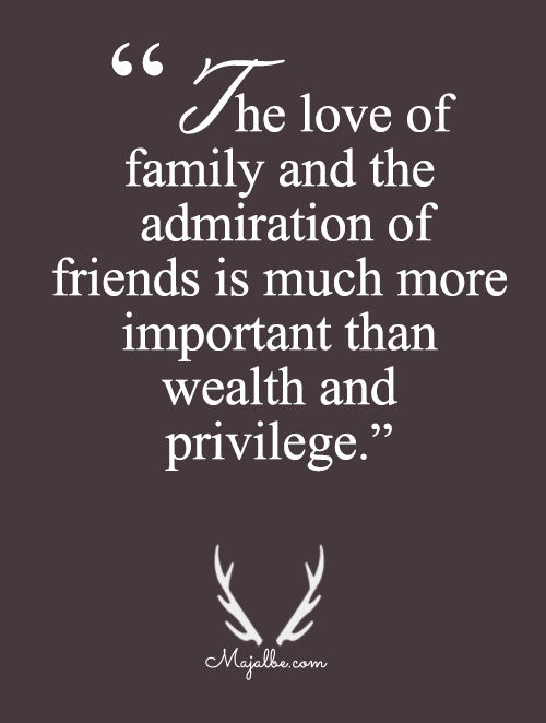 Family And Friends Are More Importnant