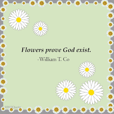 flowers prove god exist