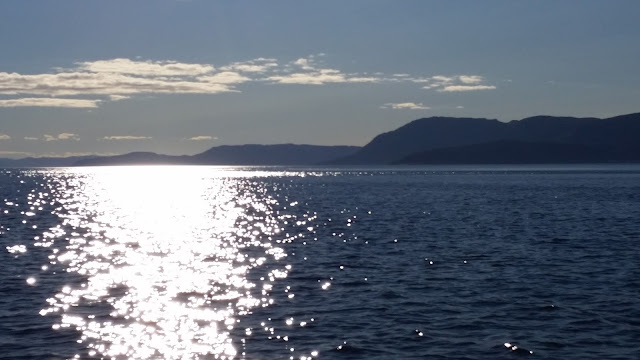 Abendstimmung im Fjord