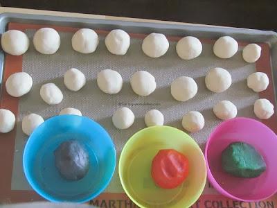 American Snowman Cookies