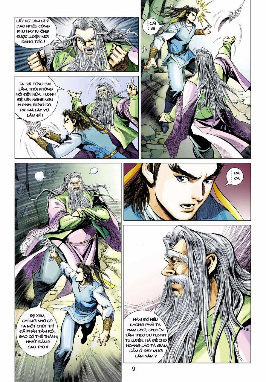 Anh Hùng Xạ Điêu anh hùng xạ đêu chap 43 trang 9