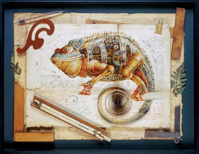 18-Vladimir-Gvozdev-Surreal-Steampunk-Animal-Drawings-www-designstack-co