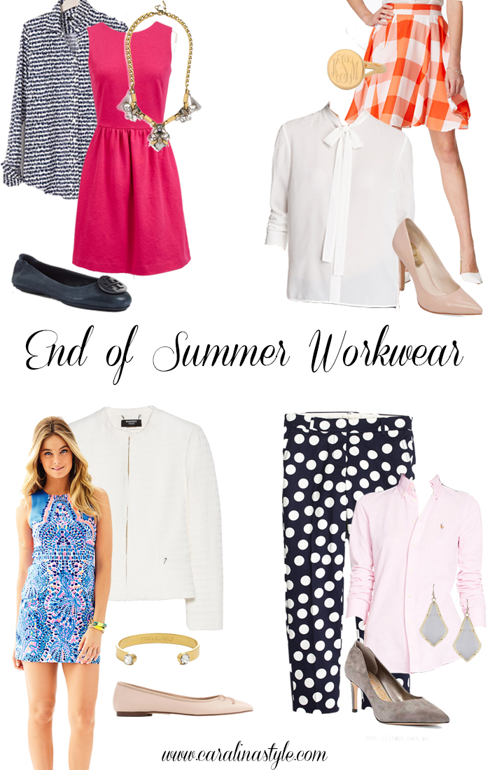 Summer Workwear Wardrobe For Women 2019: End Of Summer Workwear