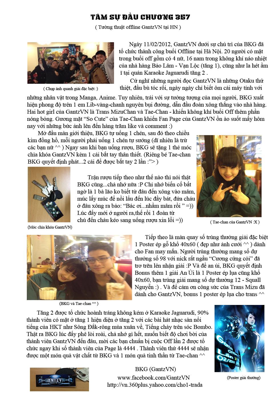 Gantz chap 357 trang 1