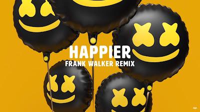 Marshmello ft. Bastille - Happier (Frank Walker #Remix)