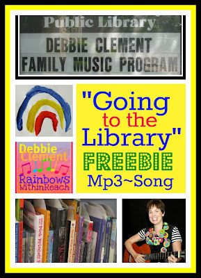 "photo of: FREE Mp3 of Debbie Clement's Song ""Going to the Library"""