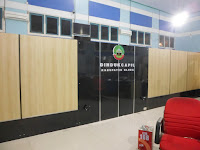 Sekat Ruang Panel Wood - Custom Furniture Semarang