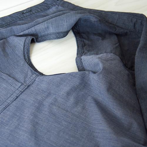 coutures intérieures robe Alder