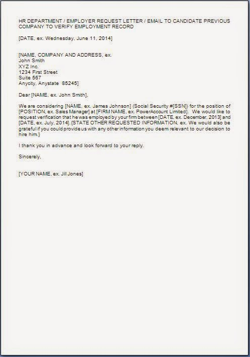 Sample Reference Check Template - sarahepps - - email reference letter template