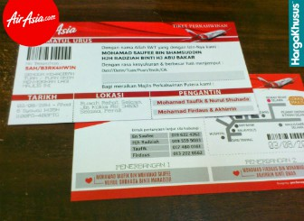 Harga Tiket Air Asia