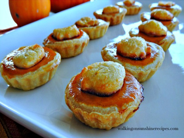 Pumpkin Pie Treats