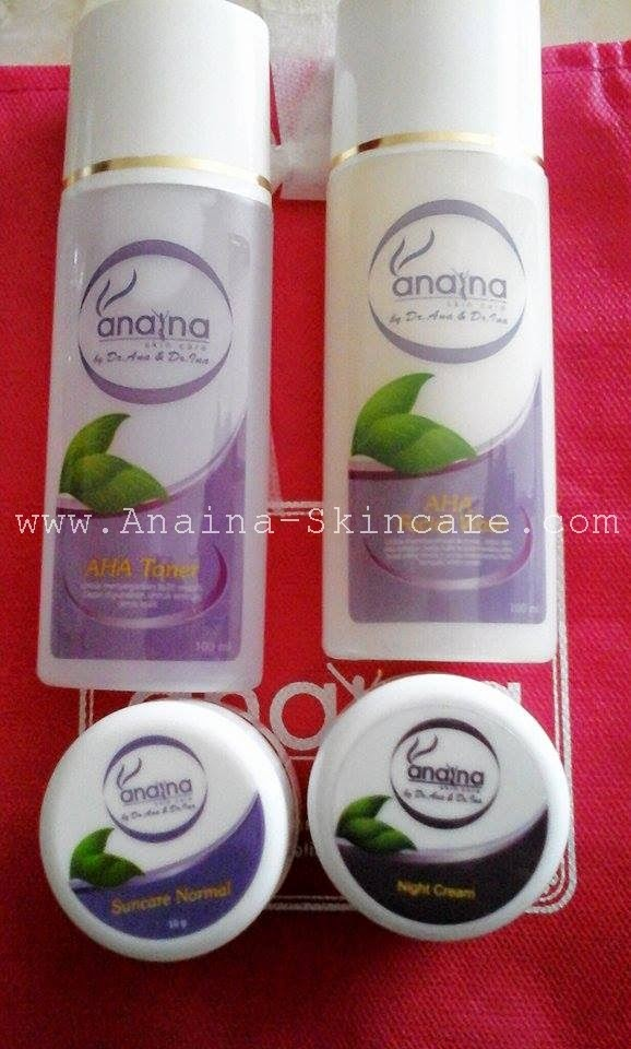 paket normal anaina skincare