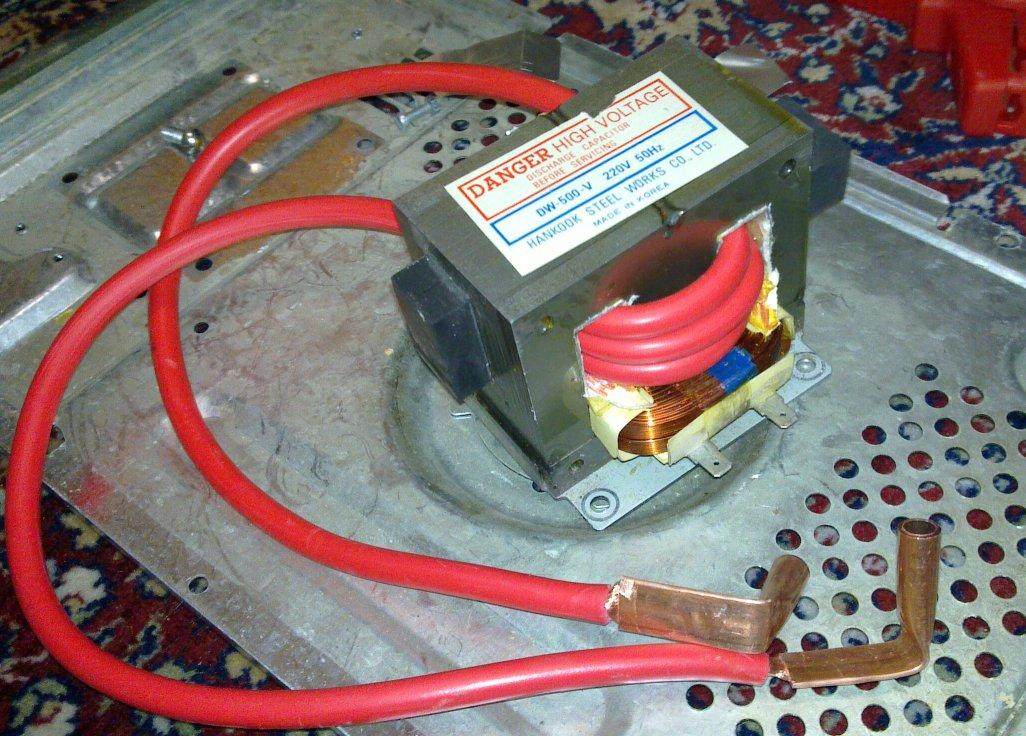 220v Wiring 3 Wires Ovens Homemade Spot Welder Cara Membuat Sendiri Alat Las Titik