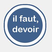 grammaire fle, l'obligation en français infographie