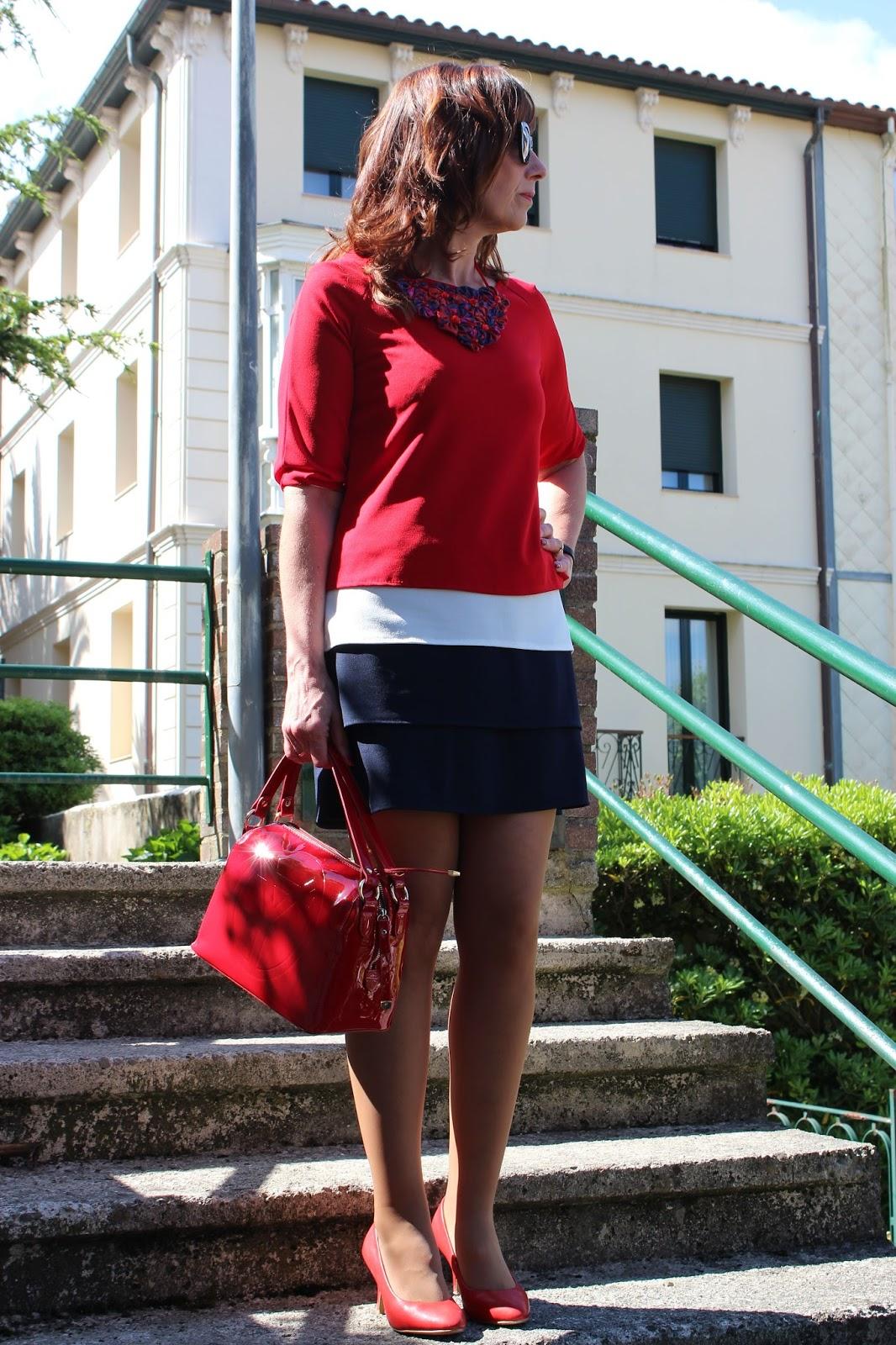 Br jula de estilo mis looks vestido tres colores - Brujula de estilo ...