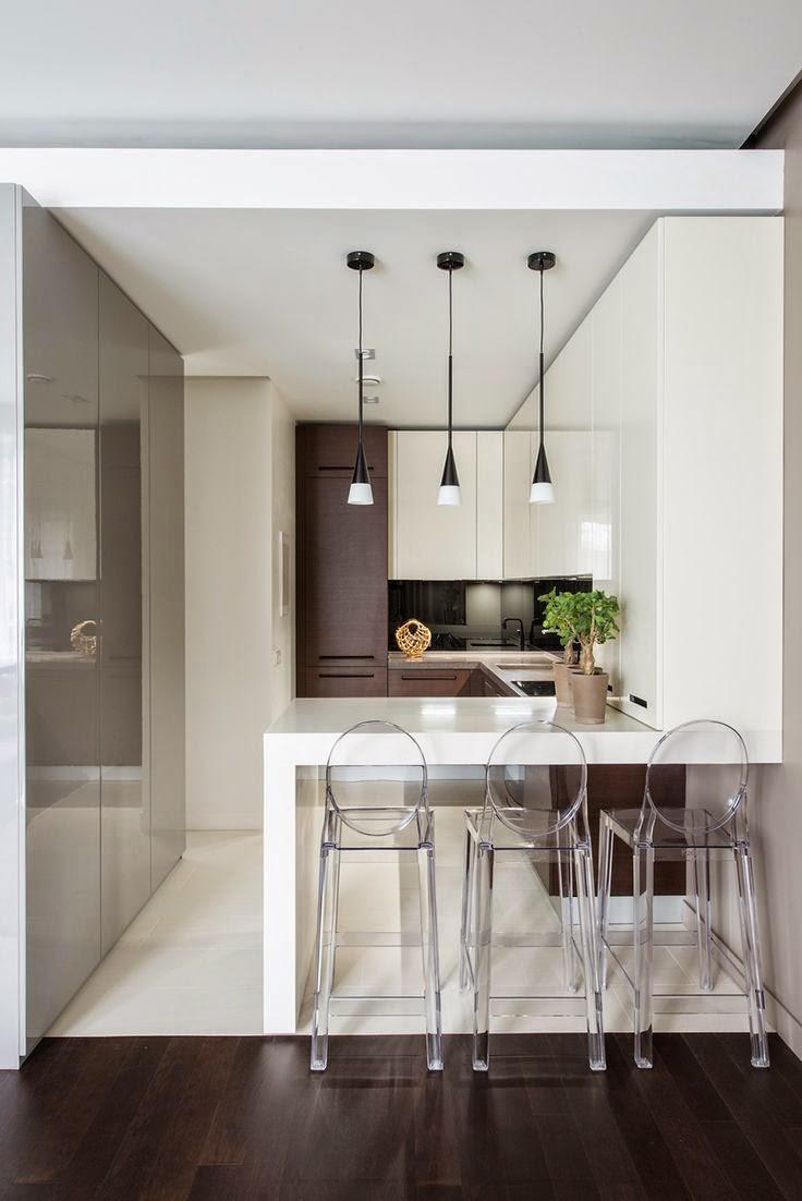 50 fotos de cocinas modernas pequeñas llenas de inspiración [2019]