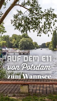 Europäischer Fernwanderweg E11 | Hauptstadtwanderung Berlin | Etappe von Potsdam zum Nikolassee am Wannsee | Wandern in Berlin-Brandenburg | Tourenplanung mit GPS-Track