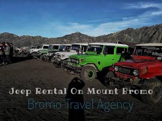 Jeep Rental On Mount Bromo Sunrise